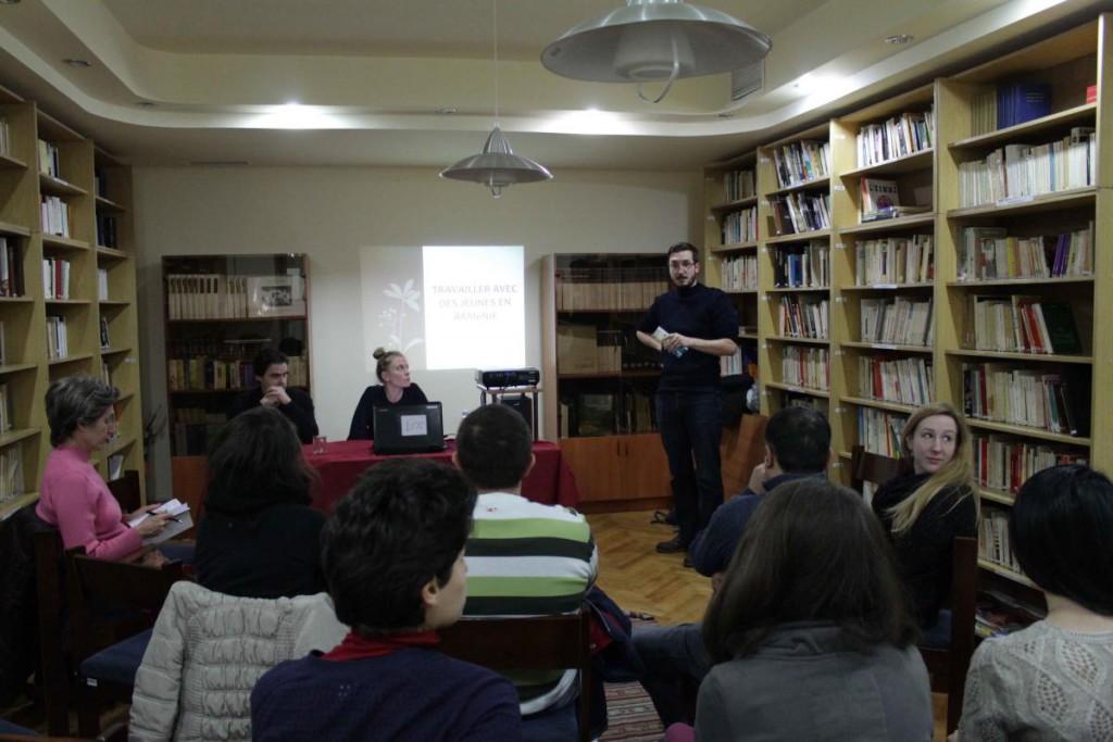 Travailler avec des jeunes en Arménie