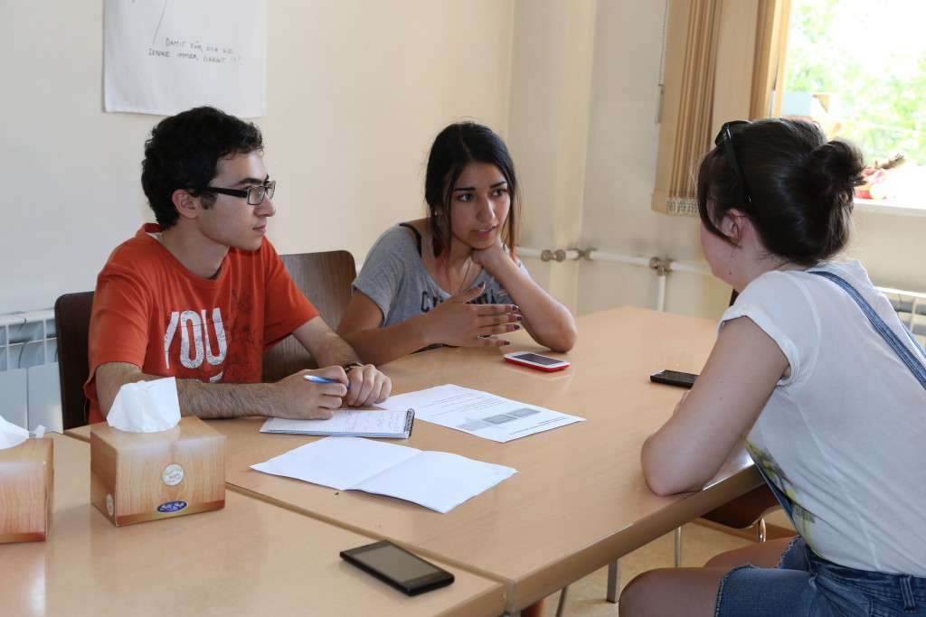 Jeunes citoyens d'Arménie