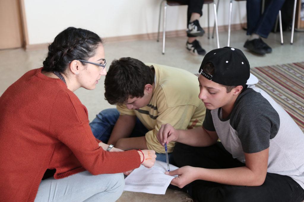 « Voyage vers nous » : camp pour adolescents arméniens locaux et de Syrie