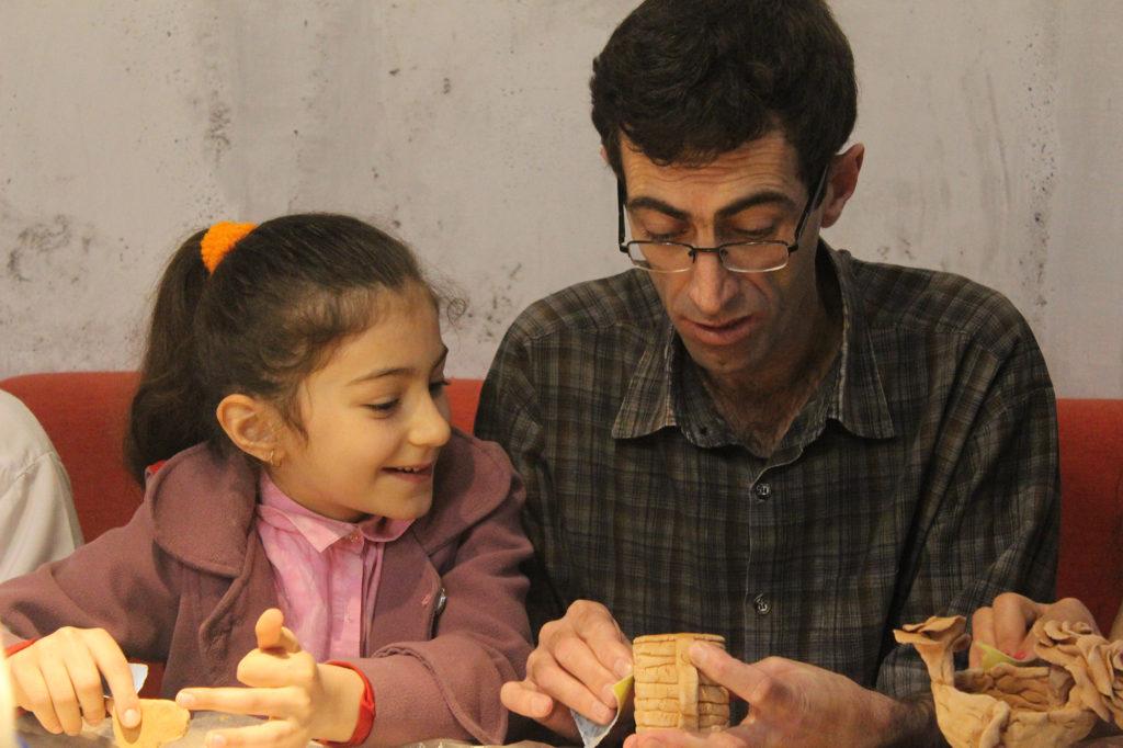 Atelier de poterie pour les réfugiés non-arméniens