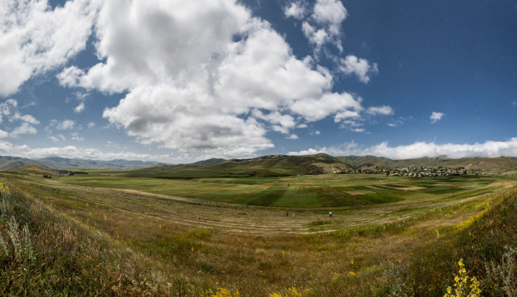 Projet d'agriculture à Gogaran