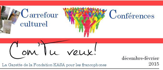 Gazette francophone - Février 2015