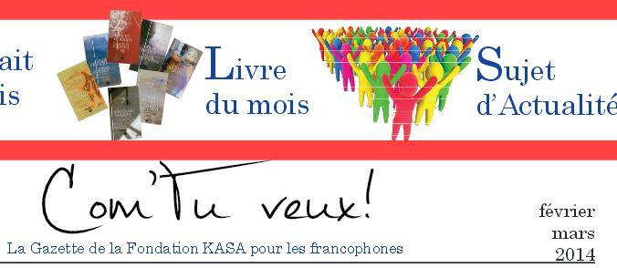 Gazette francophone - Février 2014