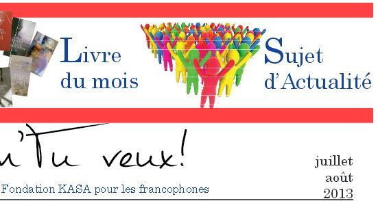 Gazette francophone - Juillet 2013