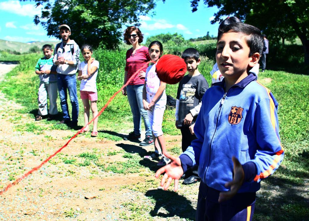 Jeunes Citoyens d'Arménie. Camp pour enfants à Marmachen