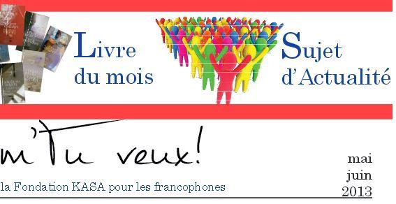 Gazette francophone - Mai 2013