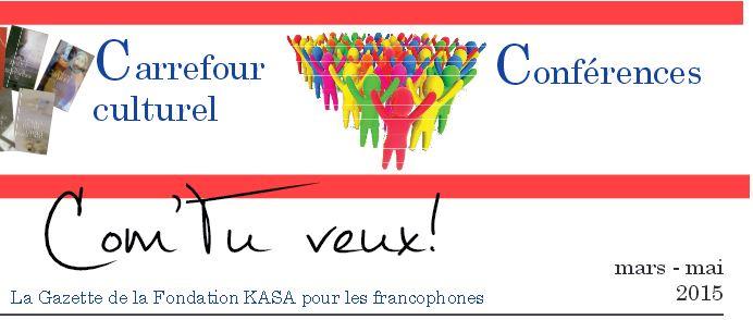 Gazette francophone - Mai 2015