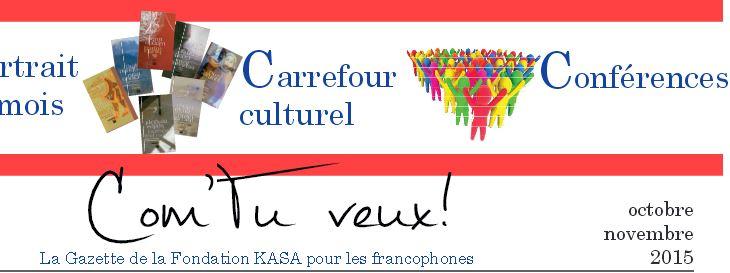 Gazette francophone - Novembre 2015
