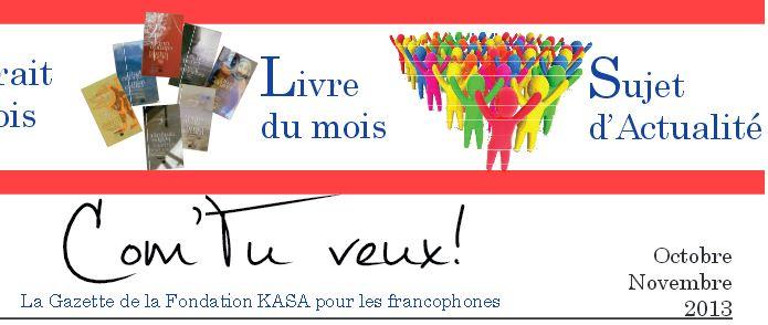 Gazette francophone - Octobre 2013