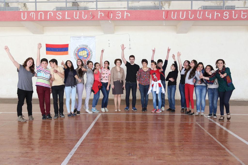 Sensibilisation à la francophonie dans les écoles