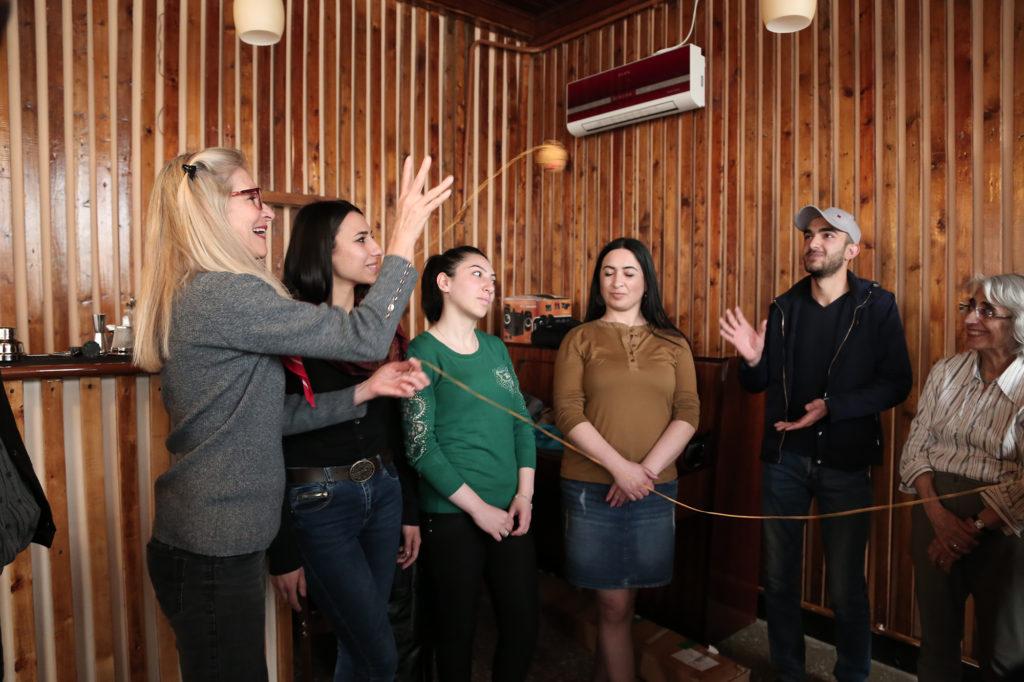 ''KASA et café Nancy: Journée exclusivement francophone à Gumri''