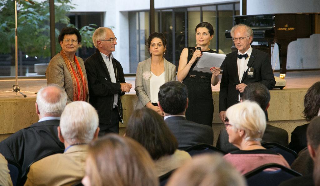 Célébration du 20e anniversaire de KASA à Erevan