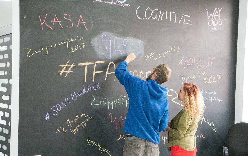La première Foire aux outils éducatifs nationale en Arménie