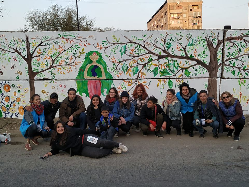Coalition des jeunes: initiative environnementale à Shengavit